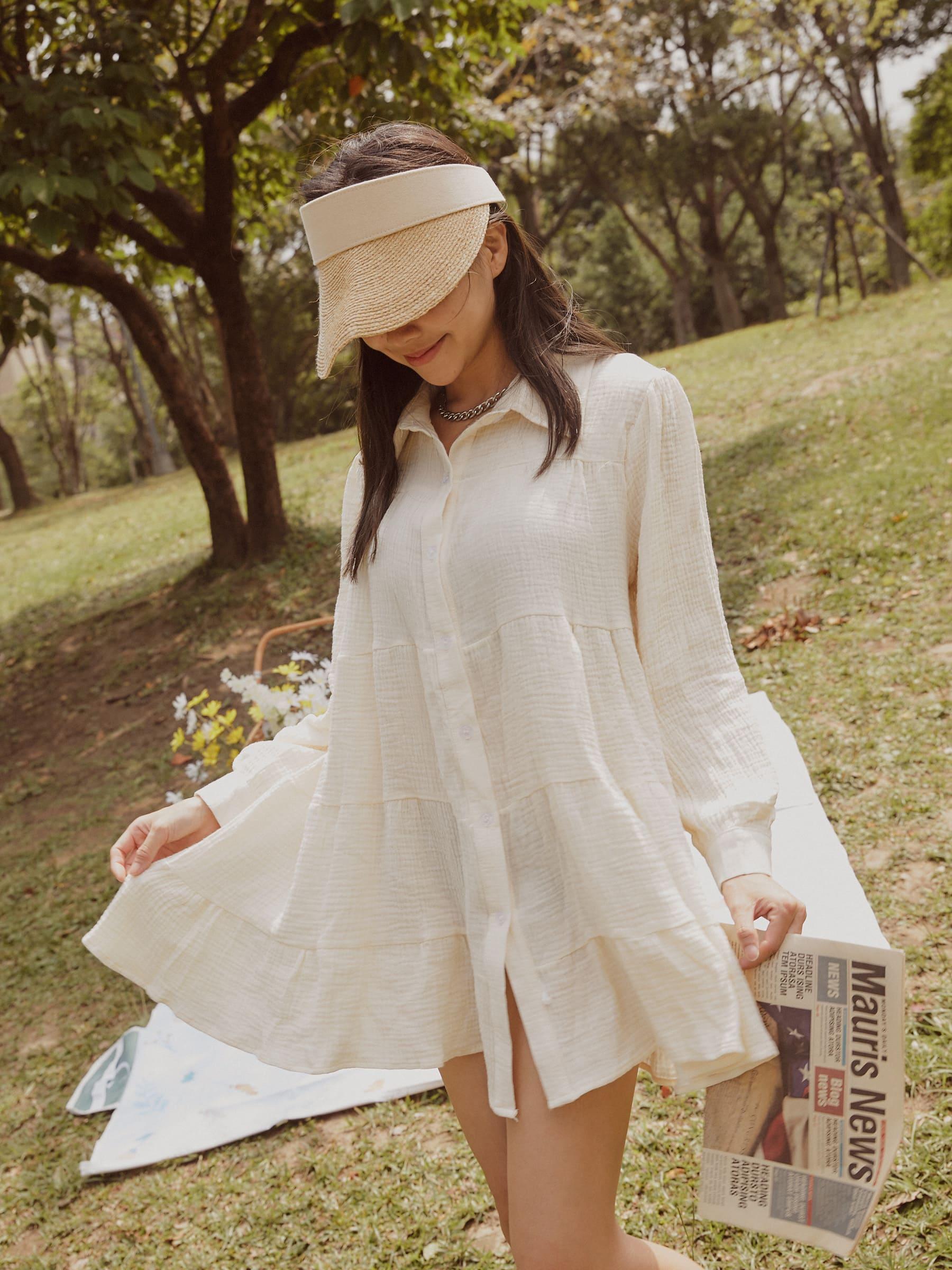 厚棉層次襯衫/外罩