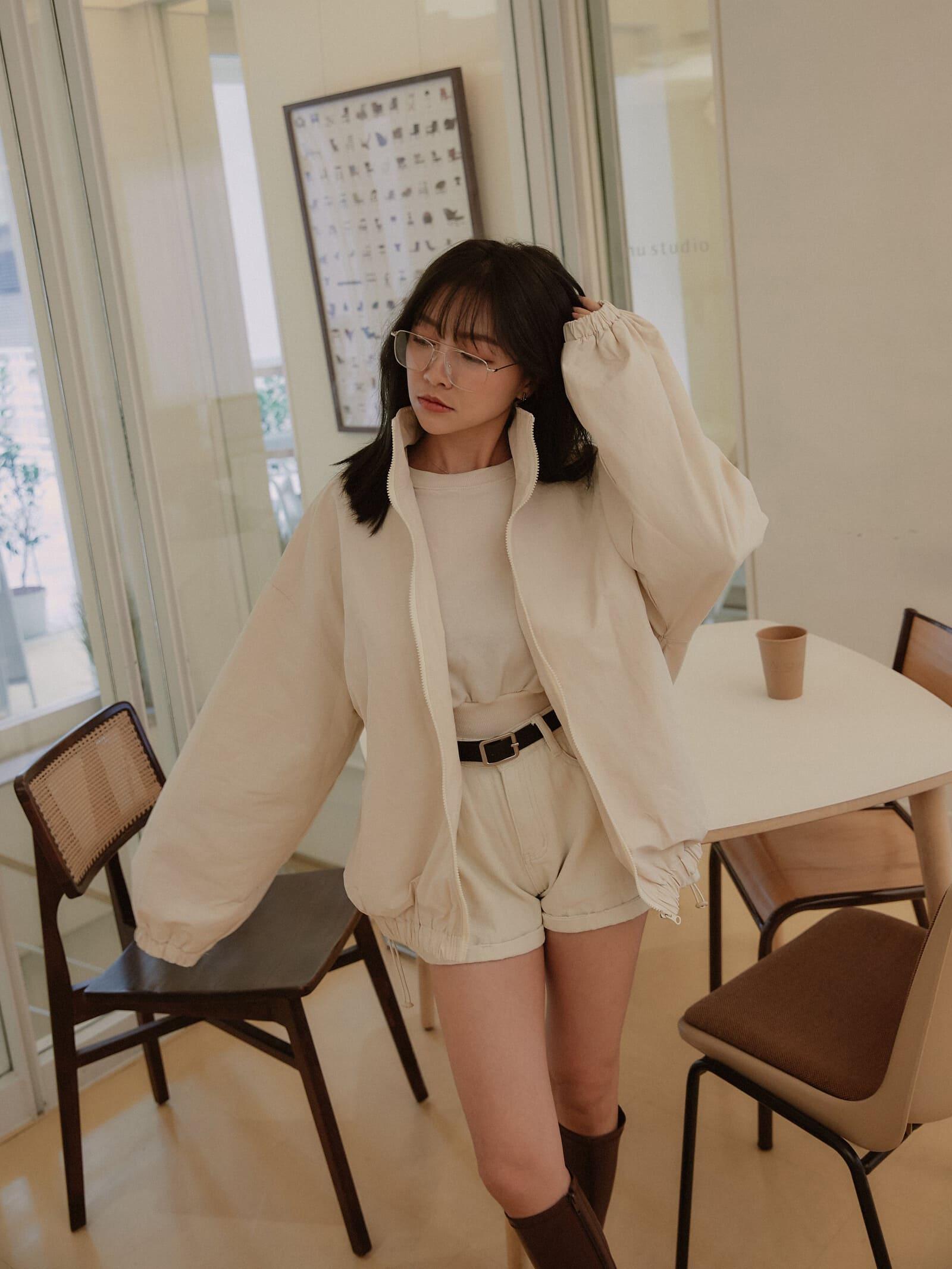 時尚立領風衣外套 / 3 colors
