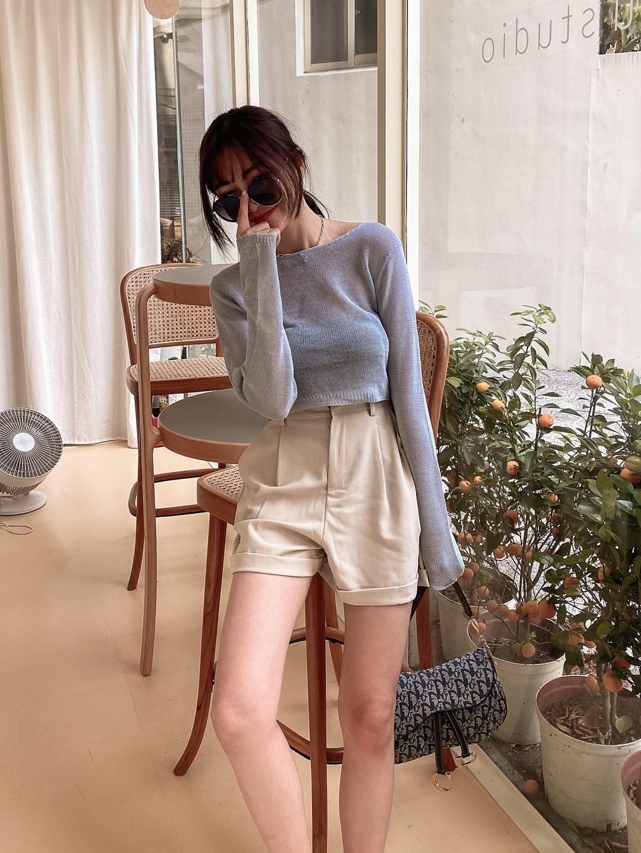 夏季款打摺反摺西裝短褲 / 3 colors