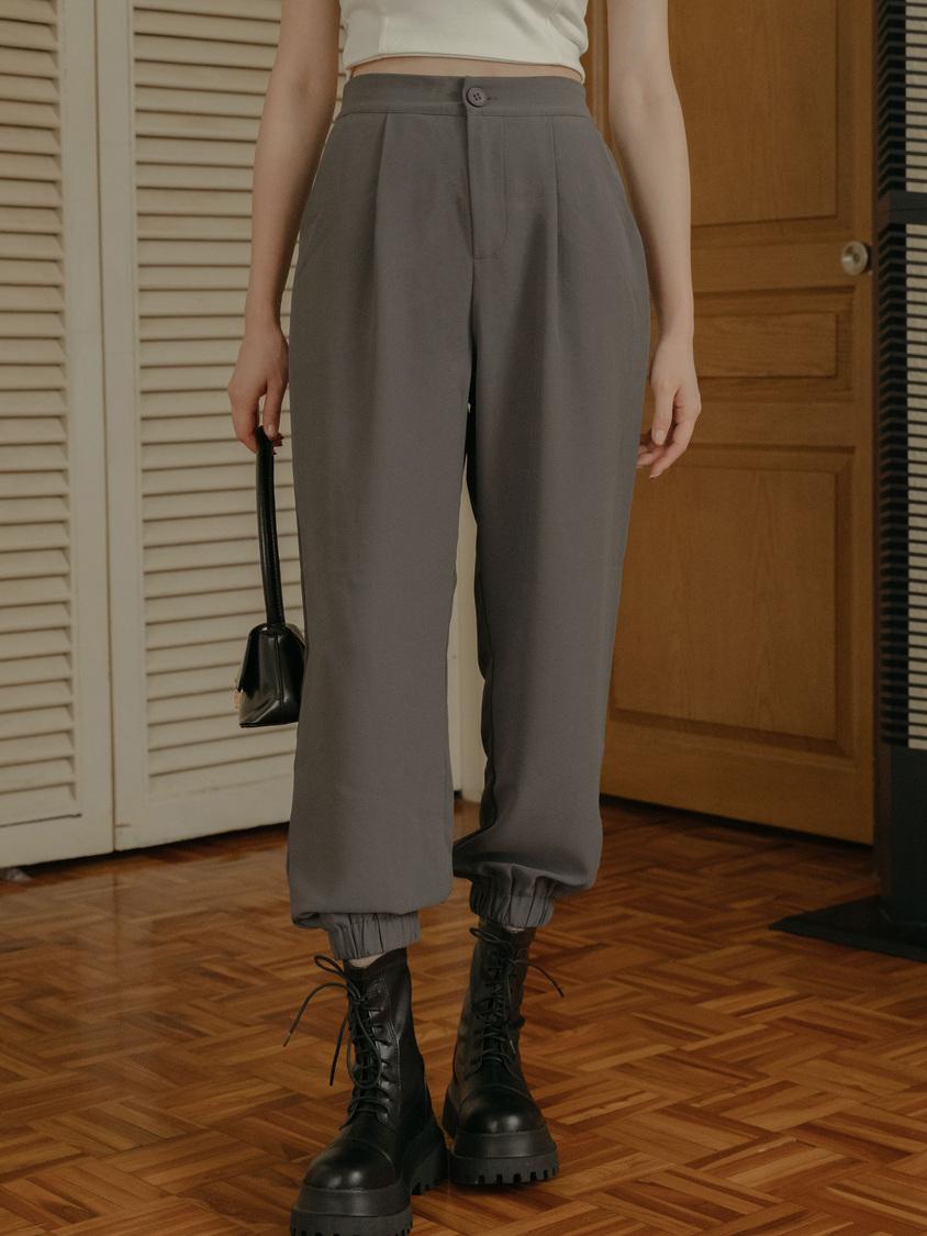 時尚縮口西裝褲
