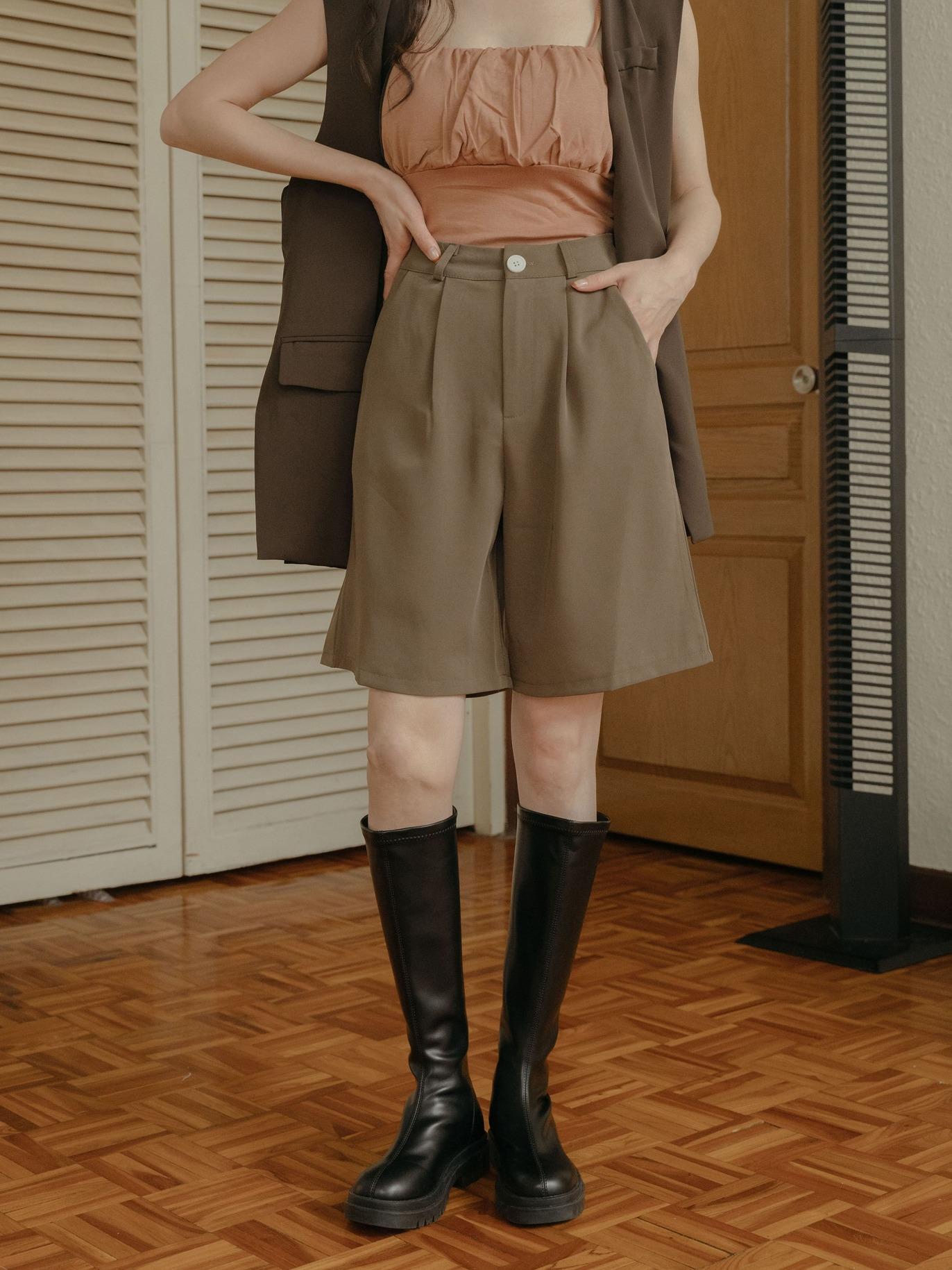 韓系西裝五分褲