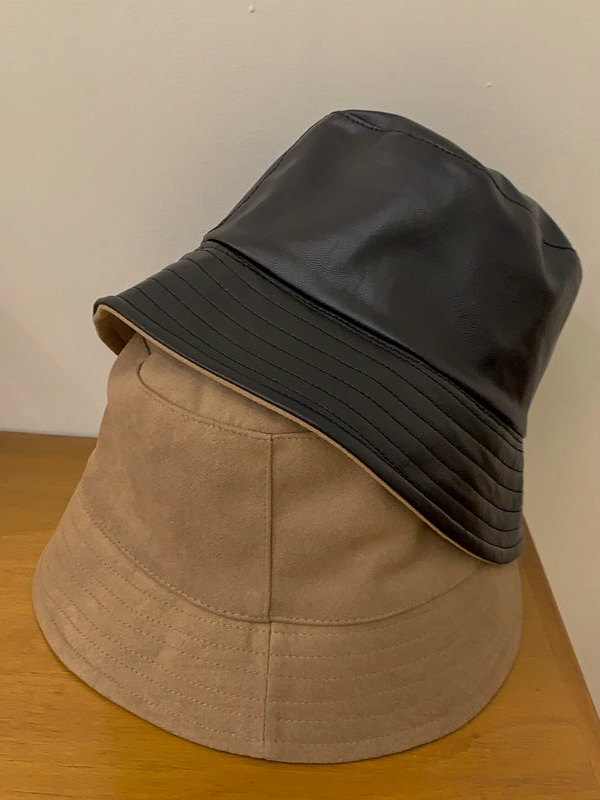 雙面設計漁夫帽 / 2 colors