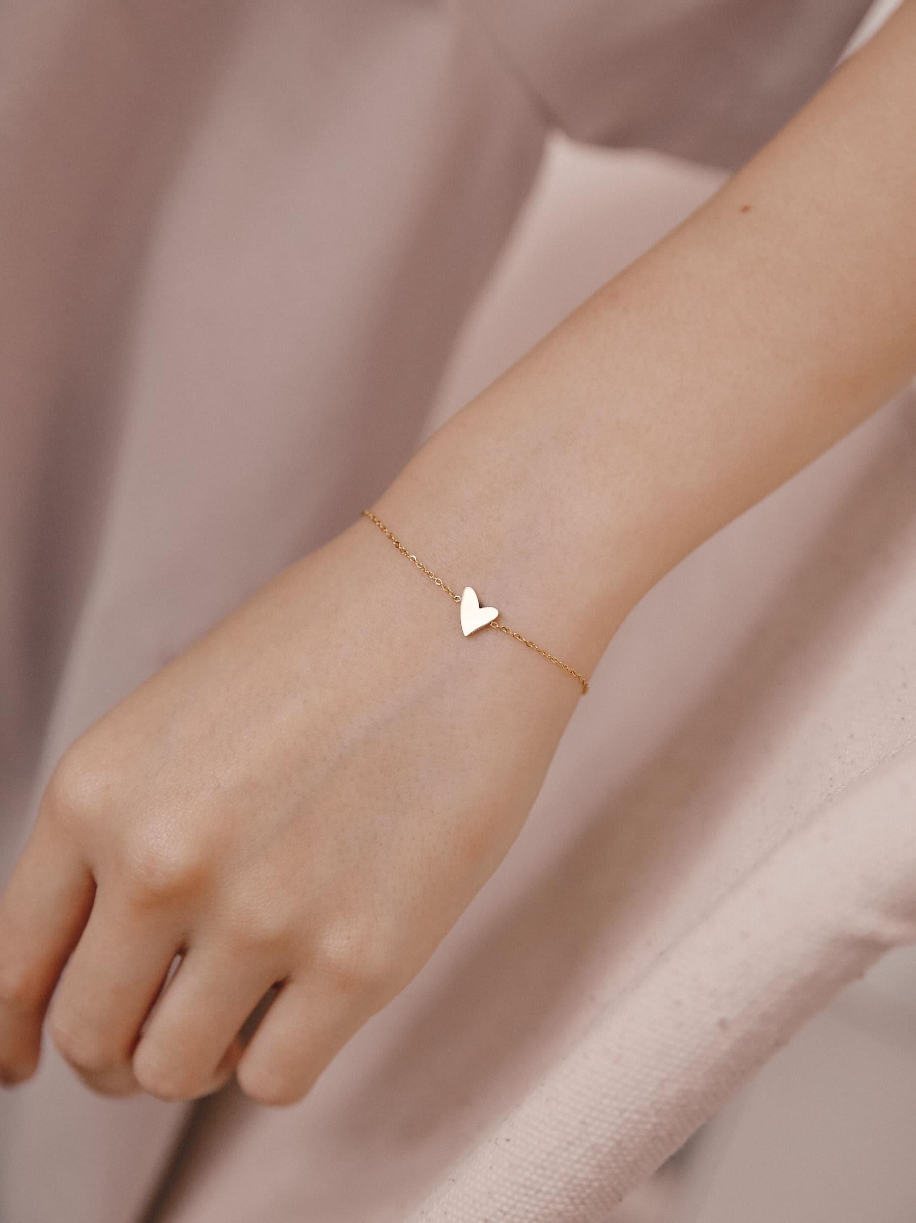 浪漫心型手環