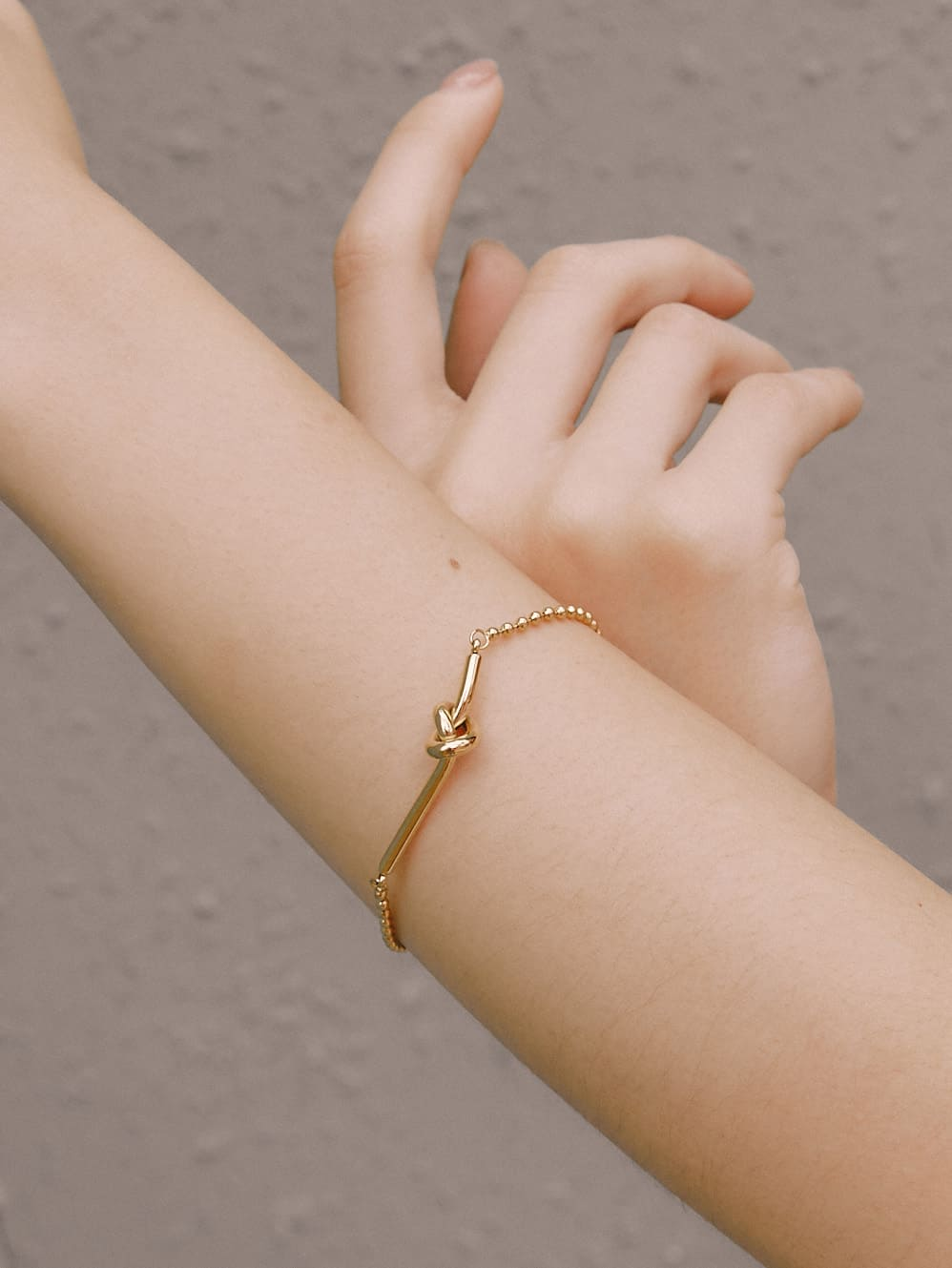 設計感繩結手環